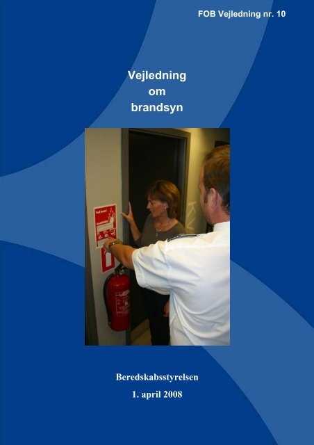 Vejledning om brandsyn (pdf) - Beredskabsstyrelsen