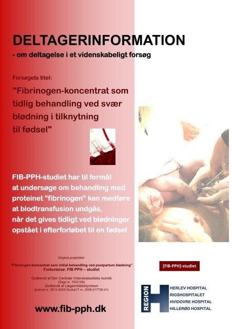 DELTAGERINFORMATION - FIB-PPH