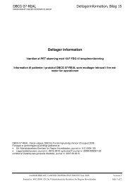 Bilag 15 : PET Deltagerinformation - DBCG