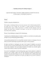 Vejledning i løsning af forvaltningsretsopgaver - Paragraf