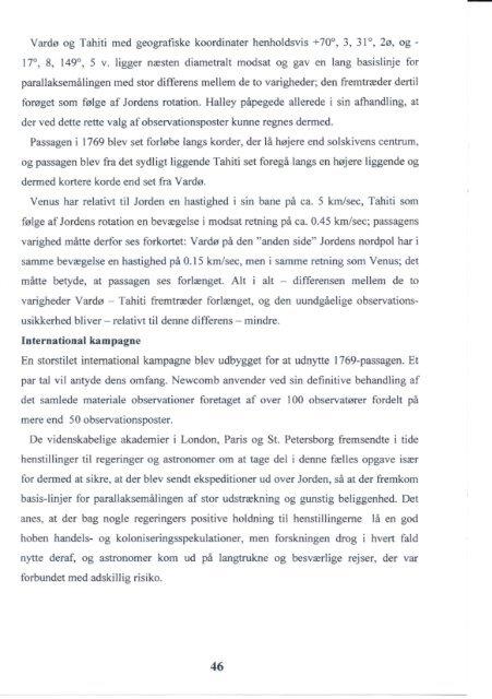 Meddelelser 2008 - Ole Rømers Venner