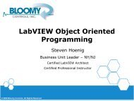 LabVIEW Object Oriented Programming