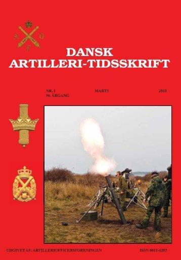 DAT nr. 1 - Artilleriofficersforeningen