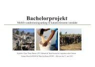 Bachelorprojekt - Ingeniører uden Grænser