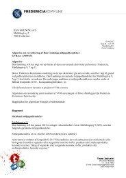 Se hele revurderingen - Fredericia Kommune