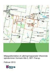 Miljøgodkendelse af udbringningsarealer ... - Nyborg Kommune