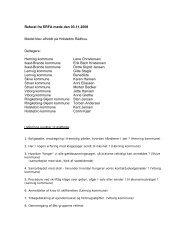 Referat fra ERFA møde den 03.11.2008 Mødet blev afholdt på ...