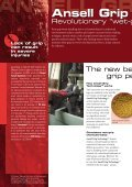 Ansell Grip TechnologyTM - Ansell Healthcare Europe - Page 2