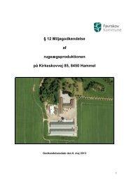 Kirkeskovvej 85, 8450 Hammel - Favrskov Kommune
