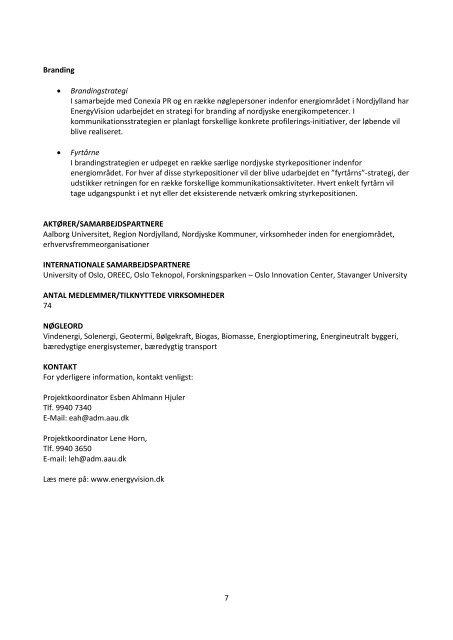Læs mere om de danske klynger og netværk - Billund ...