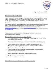 Foreningspræsentation - GF Køge Bugt