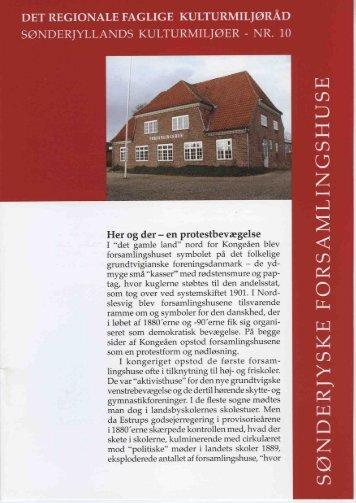 Forsamlingshuse - Museum Sønderjylland