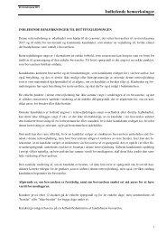 Rettevejledning 2011 - Erhvervsstyrelsen
