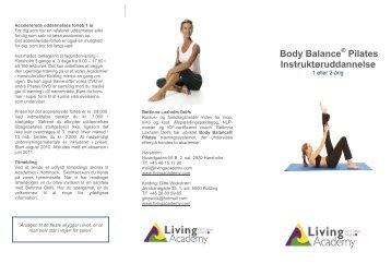 Body Balance Pilates Instruktøruddannelse - Living Academy