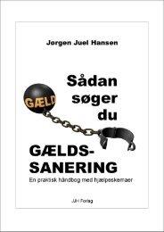 Sådan søger du gældssanering Jørgen Juel Hansen Sådan søger ...