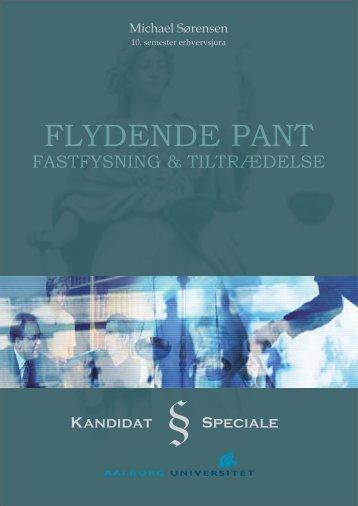 FLYDENDE PANT - Aalborg Universitet