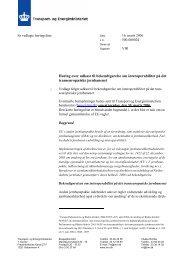 Høring over udkast til bekendtgørelse om interoperabilitet på ... - Net