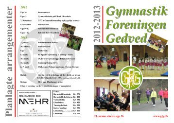 2012 - Gymnastik foreningen Gedved