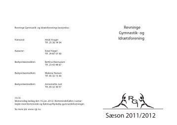 Revninge vinter 2010 for og bag - Revninge Gymnastik- og ...