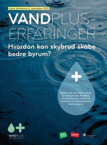 Læs program for konferencen - Klimatilpasning