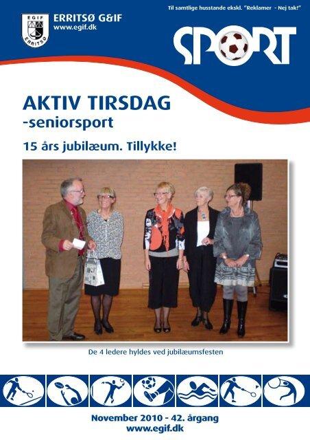 AKTIV TIRSDAG - Erritsø Gymnastik- & Idrætsforening