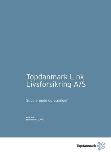 Topdanmark Link Livsforsikring A/S
