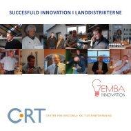 SUCCESFULD INNOVATION I LANDDISTRIKTERNE - Gemba