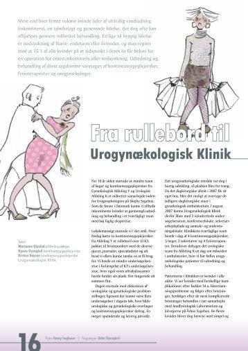 Fra rullebord til Urogynækologisk Klinik