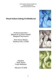 Visuel kulturs bidrag til billedkunst (pdf) - Emu
