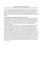 Kronisk botulisme – ikke kun i Tyskland Forfattere: Dyrlæge ... - L.v.K.
