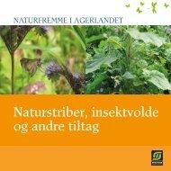 Naturstriber, insektvolde og andre tiltag - Økologisk Landsforening