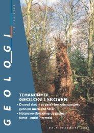 Geologi i skoven, et forskningsprojekt om Draved skov - Geus