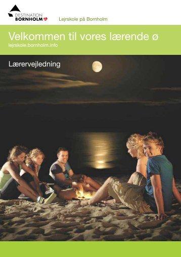 Lærervejledning - Bornholms Velkomstcenter
