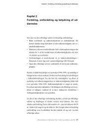 Kapitel 2 - Fordeling, omfordeling og betydning af uddannelse
