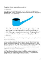 Magrittes pibe og matematisk modellering - Uvmat