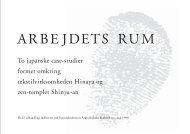 Arbejdets Rum - Jens Hvass