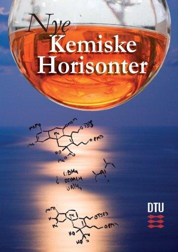 Nye Kemiske Horisonter - DTU Kemi - Danmarks Tekniske Universitet