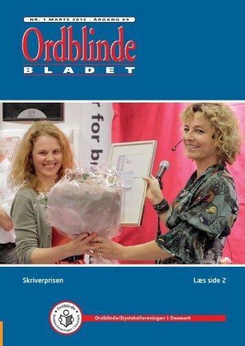 Ordblindebladet nr. 1/2012 - Ordblinde/Dysleksiforeningen i Danmark