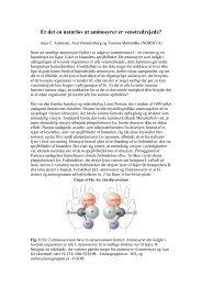 Er det en naturlov at aminosyrer er venstredrejede?