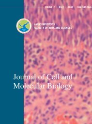 (Converted)-5 - Journal of Cell and Molecular Biology - Haliç ...