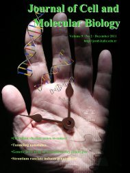 Journal of Cell and Molecular Biology - ResearchGate