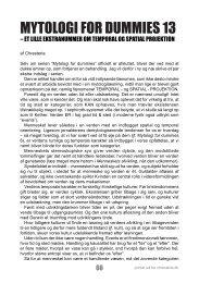 Mytologi for Dummies 13 - chresteria.dk