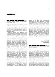 Book Reviews - Journal of Cell and Molecular Biology - Haliç ...