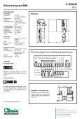 Sikkerhedssæt SM6, clorius 4.10.02 DK - Clorius Controls - Page 2