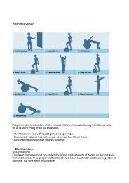 Udskriv træningsprogram - Hjerteforeningen