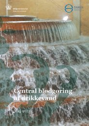 Central blødgøring af drikkevand - Naturstyrelsen