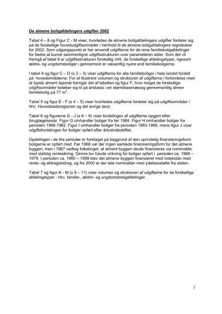 De almene boligafdelingers udgifter 2002 - Landsbyggefonden