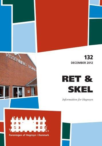 Dec. 132 - Foreningen af Hegnsyn i Danmark