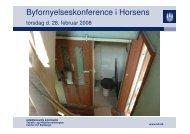 Morten Kabell - Byfornyelseskonference i Horsens