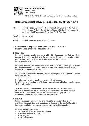 Referat 25-10-11